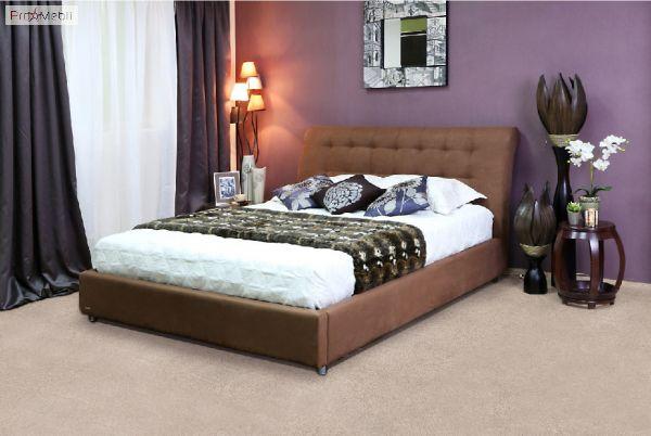 Кровать Кофе - тайм 160x200 Капучино Embawood
