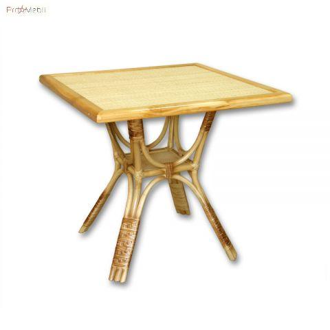 Стол кавдратный Триумф из ротанга