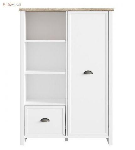 Книжный шкаф REG1D1S Cannet BRW