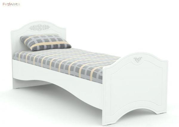 Кровать АС-09 90x200 Белль Санти