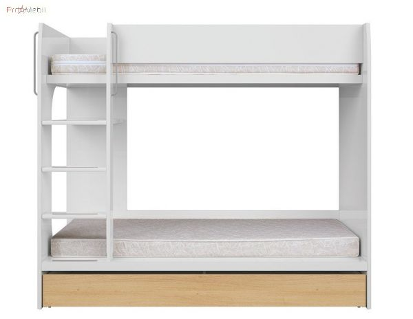 Кровать двухъярусная LOZ1S/90P Princeton BRW