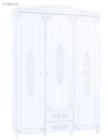 Шкаф 3-х дверный АС-27 Ассоль Санти