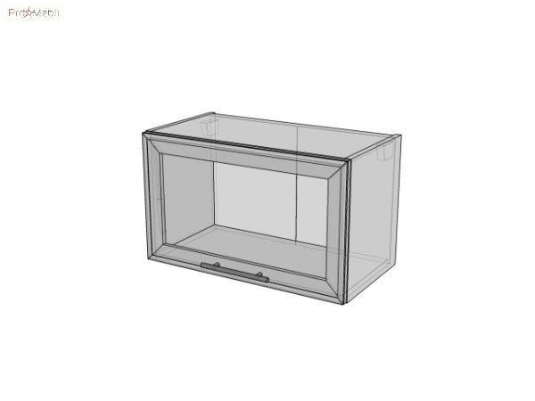МВ 60х35,9 (витрина) Кухня Капучино Roko
