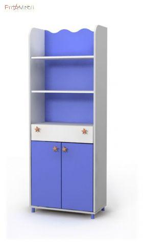 Книжный шкаф Oc-04-1 Ocean Briz