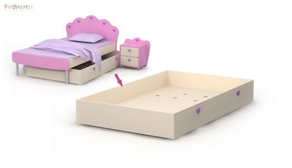 Выдвижная кровать ниша Pn-13-2 Pink Briz