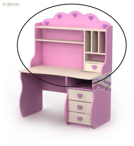 Надставка к столу Pn-09-2 Pink Briz