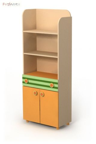 Книжный шкаф Bs-04-1 Active Briz