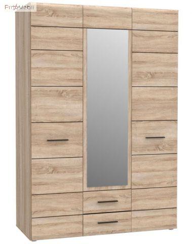 Шкаф с зеркалом 3D2S Соло VMV