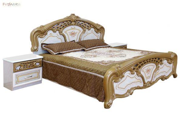 Кровать 2-сп пино Кармен Новая Світ Меблів