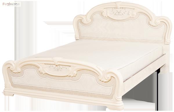 Кровать 2-сп 1,6 Опера роза Світ Меблів