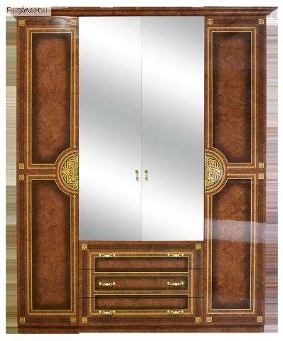 Шкаф 4Д Диана Світ Меблів