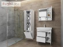 Пенал в ванную комнату SfP-170 белый Sofia Ювента