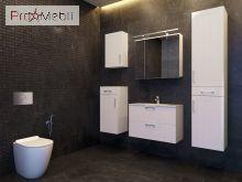 Зеркальный шкаф в ванную комнату OscMC-80 Oscar белый Ювента