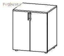 Шкаф для документов 3-307 кабинет Гранд Салита