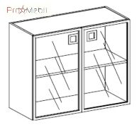 Шкаф низкий 23-804 кабинет Morion Салита