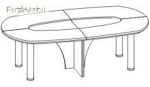 Конференц-стол 2 кабинет Триумф Салита