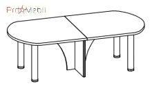 Конференц-стол 3 кабинет Триумф Салита