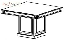 Конференц стол 22-701 кабинет Классик Салита