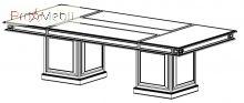 Конференц стол 22-702 кабинет Классик Салита