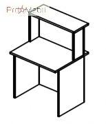 Стол соединяющий 6-106 мебель для секретаря Reception Салита
