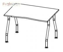 Стол 5-109 офисная мебель Лайт Салита