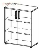 Шкаф 5-201 офисная мебель Лайт Салита
