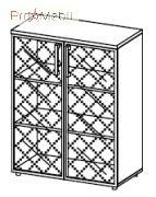 Шкаф 5-202 офисная мебель Лайт Салита