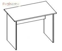 Стол 1-102 офисная мебель Эконом Салита