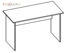 Стол 1-103 офисная мебель Эконом Салита