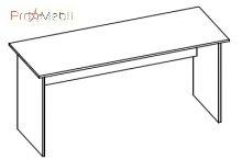 Стол 1-104 офисная мебель Эконом Салита
