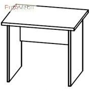 Стол письменный 4-101 офисная мебель Персонал Салита