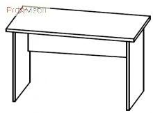 Стол письменный 4-103 офисная мебель Персонал Салита