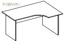 Стол письменный 4-110 офисная мебель Персонал Салита