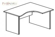 Стол угловой 4-115 офисная мебель Персонал Салита