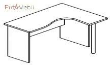 Стол угловой 4-120 офисная мебель Персонал Салита