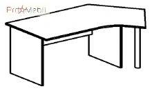 Стол 4-129 офисная мебель Персонал Салита