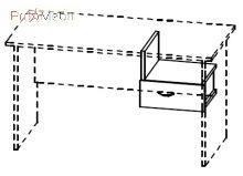 Ящик подвесной 4-167 офисная мебель Персонал Салита