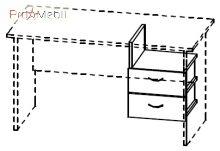 Ящик подвесной 4-169 офисная мебель Персонал Салита