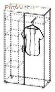 Шкаф гардероб 4-244 офисная мебель Персонал Салита