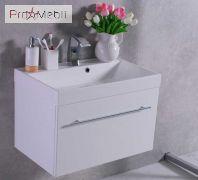 Тумба для ванной с умывальником Corsica 70 Fancy Marble