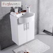 Тумба для ванной с умывальником подвесная ШН-512 Fancy Marble