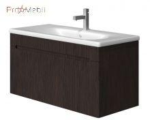 Тумба для ванной с умывальником Tv-100 старый дуб Tivoli Ювента