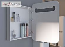 Зеркальный шкаф в ванную комнату PrМ-70 Prato Ювента