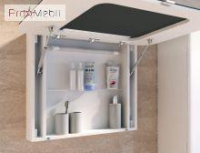 Зеркальный шкаф в ванную комнату PrМ-80 Prato Ювента