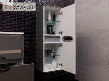 Пенал в ванную комнату PrP-100 белый Prato Ювента