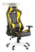 Кресло Extreme Race black-yellow Special4You