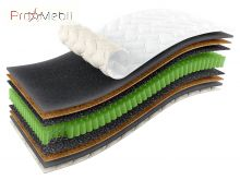 Матрас Omega 90x200 Sleep&Fly Organic