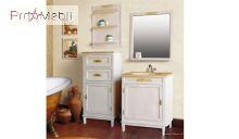 Тумба для ванной Марсель-65 столешница камень Ольвия