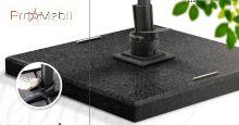 База (основа) для садового зонта Siesta и Resort granite base Anthracite 125 кг