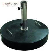 База (основа) для садового зонта round granite base 40 кг